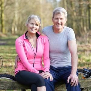 Middle age couple M