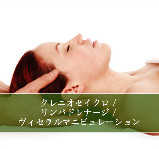 Craniosacral Treatment / Lymph Drainage / Visceral Manipulation